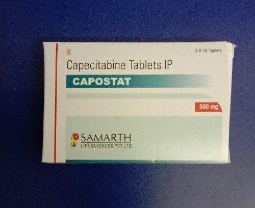 Capecitabine 500mg Tablet Capostat