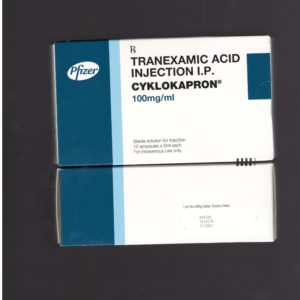 Tranexamic Acid Injection 100mg Cyklokapron