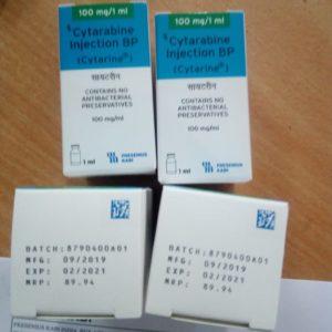 Cytarabine Injection BP Cytarine 100mg