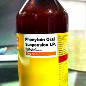 Phenytoin Oral Suspension Eptoin 200ml