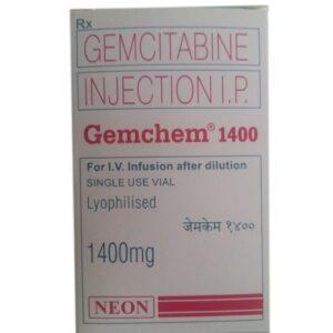 Gemchem 1400mg injection
