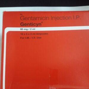 Gentamicin Injection Genticyn 80mg