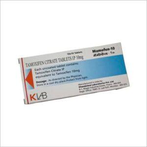 Tamoxifen Citrate Tablet 10mg Mamofen-10