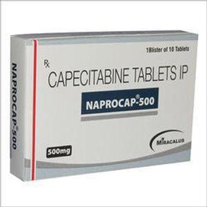 Capecitabine Tablet 500mg Naprocap