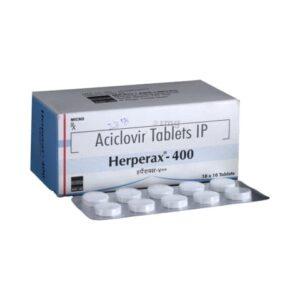 Aciclovir 400mg Tablet Herperax