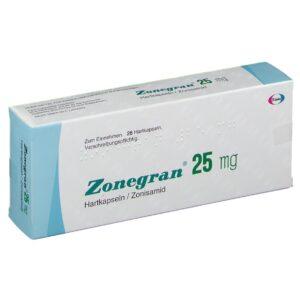Zonegran 25mg Capsule