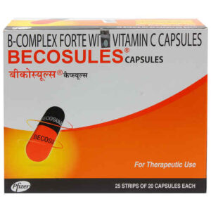 Vitamin B Complex + Vitamin C Becosules Capsule