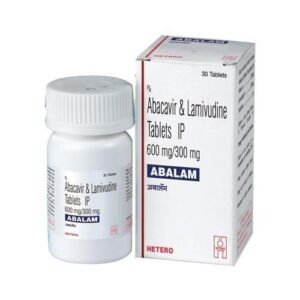 Abacavir Lamivudine Abalam 600MG
