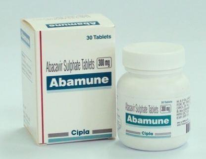 Abacavir 300mg Abamune