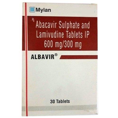 Abacavir Lamivudine 300mg Albavir