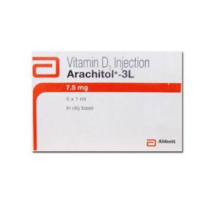 Vitamin D3 Arachitol 300000 IU Injection