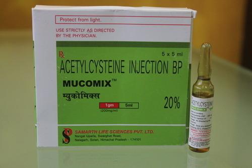 Acetylcysteine Mucomix 1 gm Injection