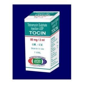 Tobramycin Tocin 80 mg Injection