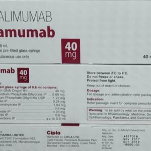 Adalimumab 40mg Plamumab Injection