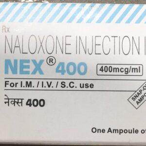 Naloxone Nex 400mcg Injection