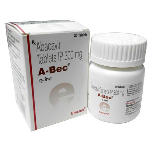 Abacavir 300mg A-Bec Tablet
