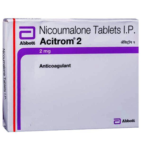 Acenocoumarol 2mg Acitrom Tablet