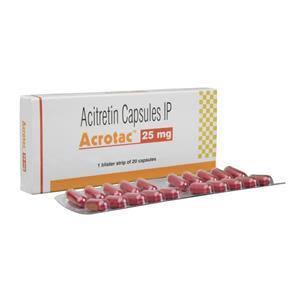 Acitretin 25mg Acrotac Capsules