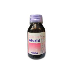 Cetirizine 5mg/5ml Alerid Syrup