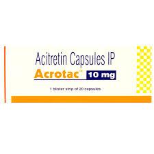 Acitretin 10mg Acrotac Capsule
