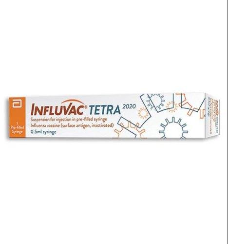 Inactivated influenza vaccine 0.5ml Influvac Tetra Vaccine