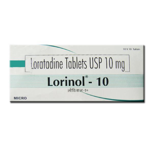 Loratadine 10mg Lorinol Tablet