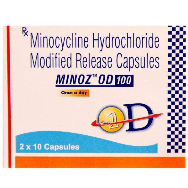 Minocycline 100mg Minoz OD Capsule MR