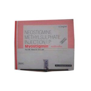 Neostigmine 0.5mg Myostigmin 0.5mg Injection 1ml