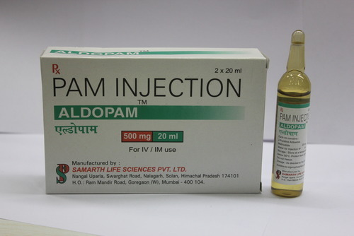 Aldopam injection 500mg