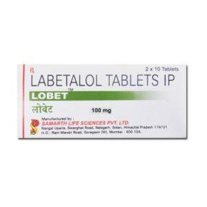 Lobet 100mg tablet