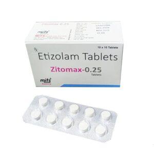 Etizolam 0.25mg Tablet Zitomax