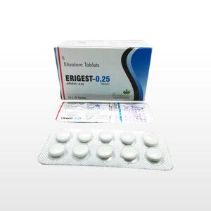 Etizolam 0.25mg Tablet Erigest