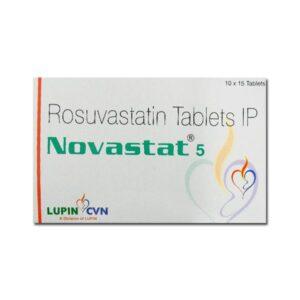 Novastat 5mg tablet