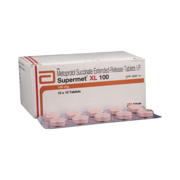 Supermet xl 100mg tab