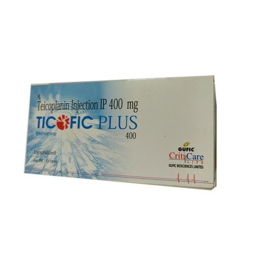Teicoplanin 400mg Injection Ticofic Plus