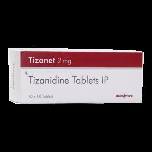 Tizanidine 2 mg