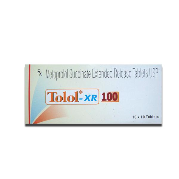 Tolol XR 100mg tab