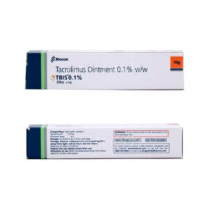 Tacrolimus 10gm Tbis 0.1% Ointment