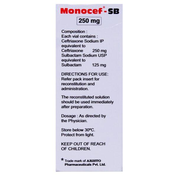 Monocef-SB Injection