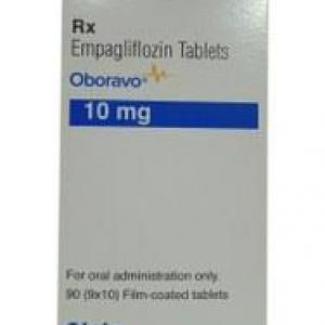 Empagliflozin 10mg Oboravo Tablet