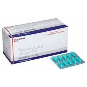 Tetracycline 250mg Nicocycline