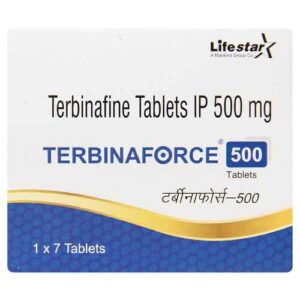 Terbinafine 500mg Tarbinaforce