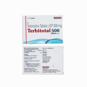 Terbinafine 500mg Terbitotal