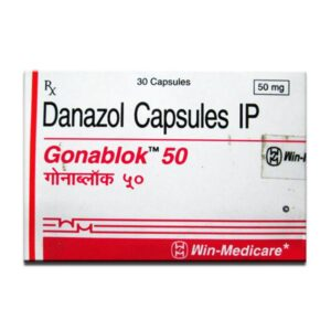 Gonablok 50mg Capsule Danazol