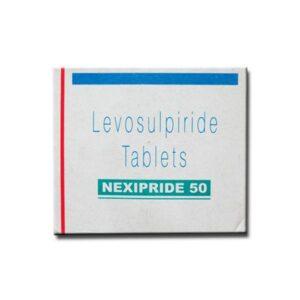 Nexipride  50mg Tablet Levosulpride